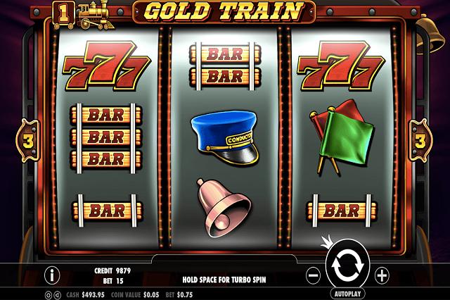gold train slots